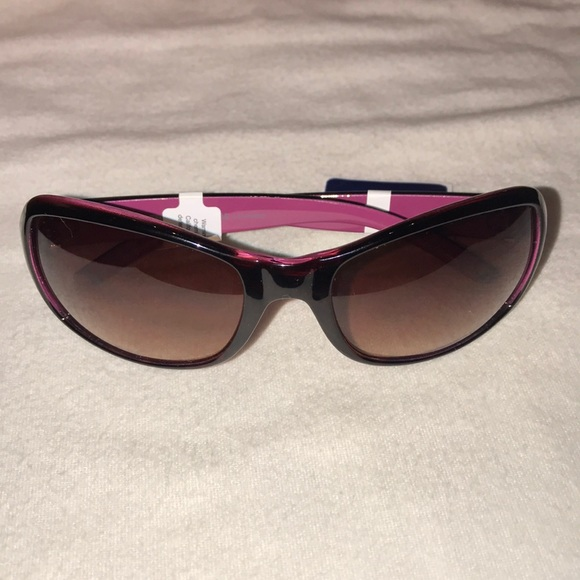 181813ae2f4 Juicy Couture black deep rose pink sunglasses NWT